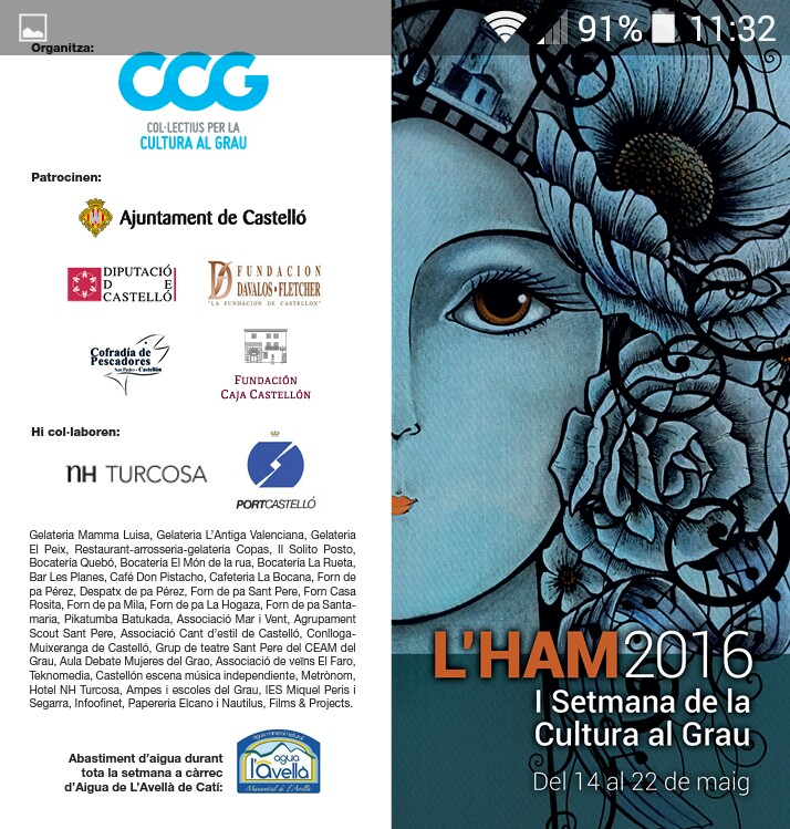 I semana cultural en el grao de castell n castell n turismo for Oficina correos castellon