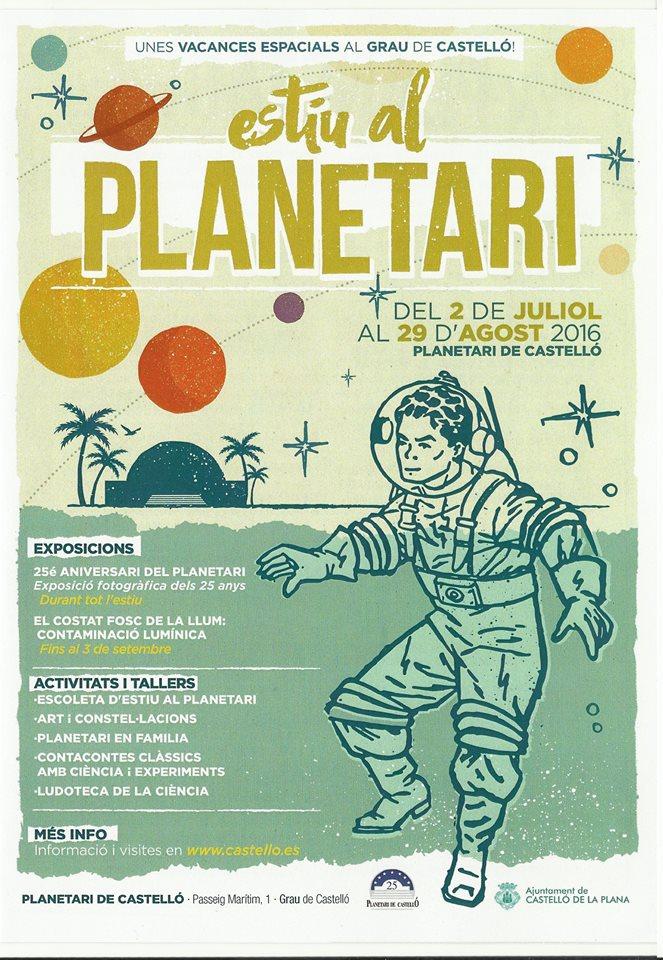 estiu al planetari