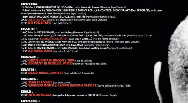 Festival Jazz Castellon
