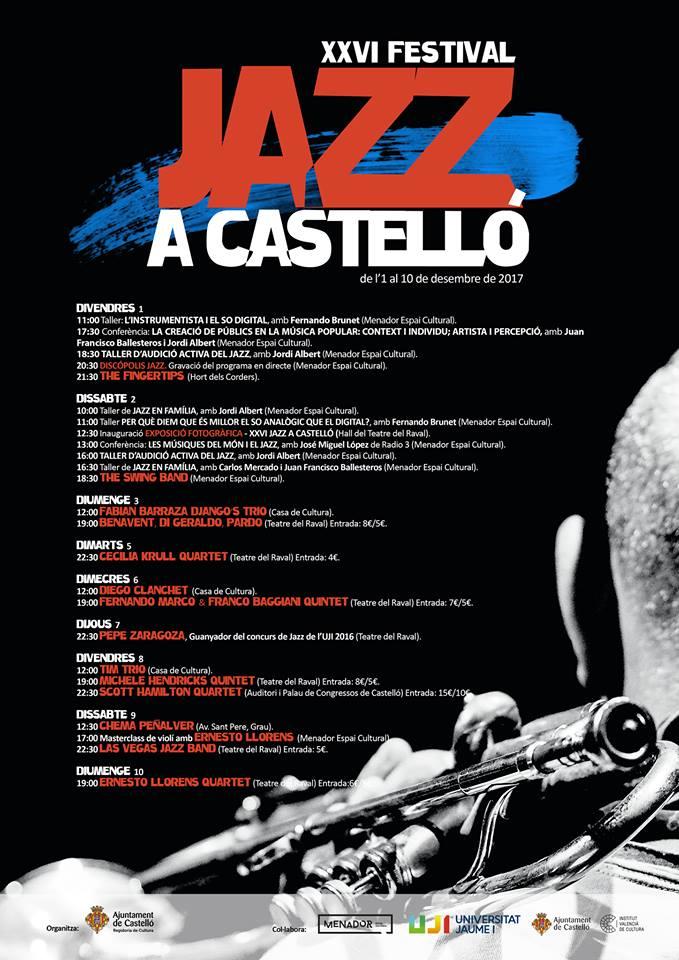 XXVI Festival de Jazz a Castelló