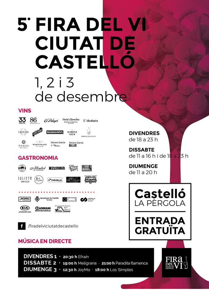 5 feria del vino en castell n castell n turismo for Oficina turismo castellon