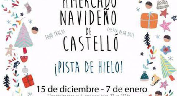 Mercado Navidad en Castellon