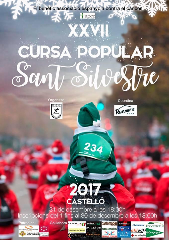 XXVII San Silvestre popular race in Castellón