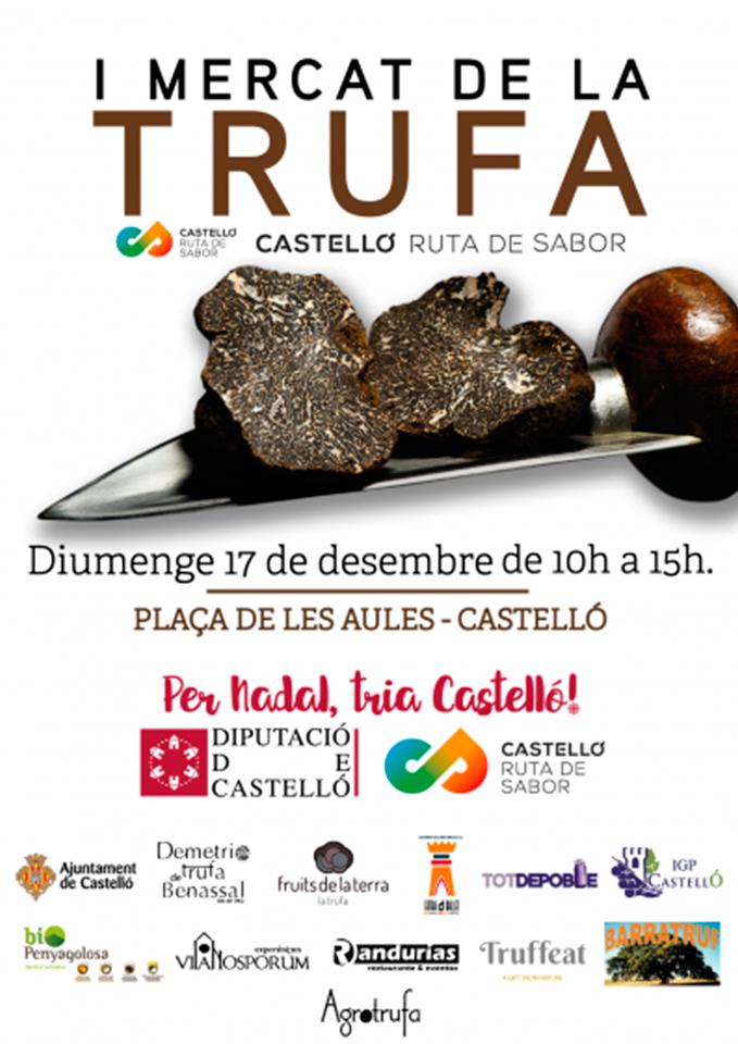 I Mercado de la trufa en Castellón