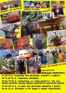 XIX trobada de Bèsties de Foc_programa