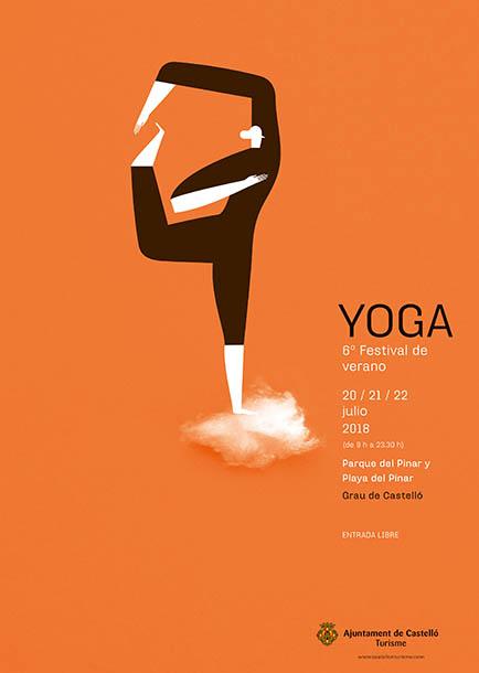 cartell ioga estiu