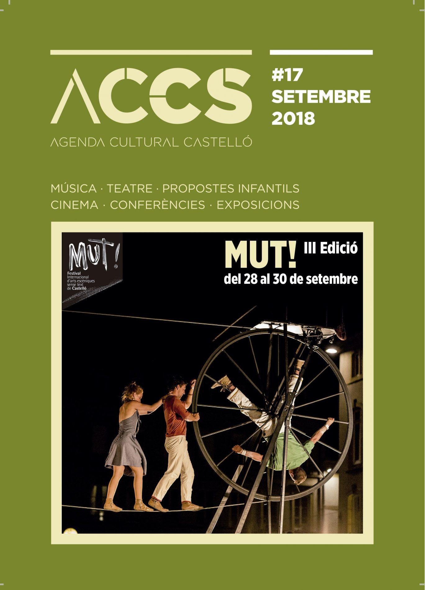 Agenda Cultural Castellón septiembre