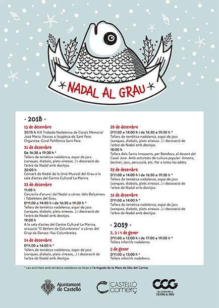 Navidad en el Grao de Castellón