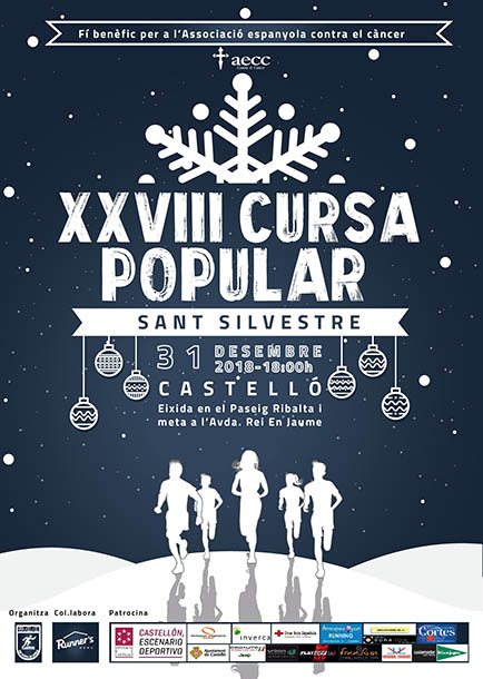 Carrera popular San Silvestre Castellón 2018