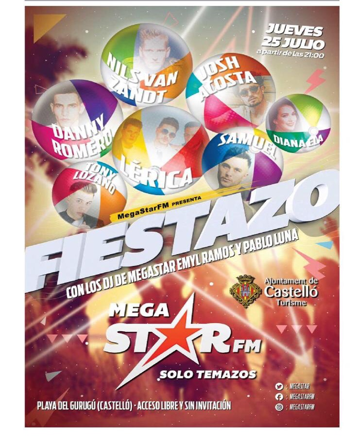 Concierto de Fiestazos MegaStar