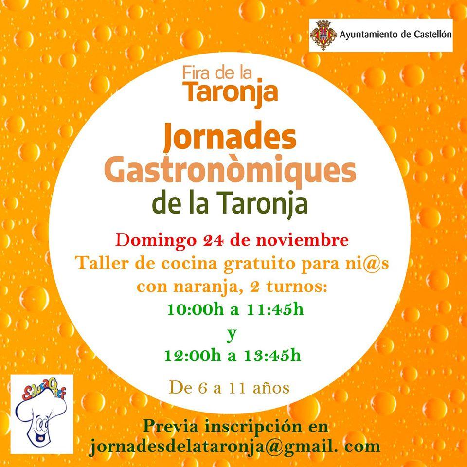 Castellón-con-niños.-Jornadas-Naranja.-Taller-infantil-cocina