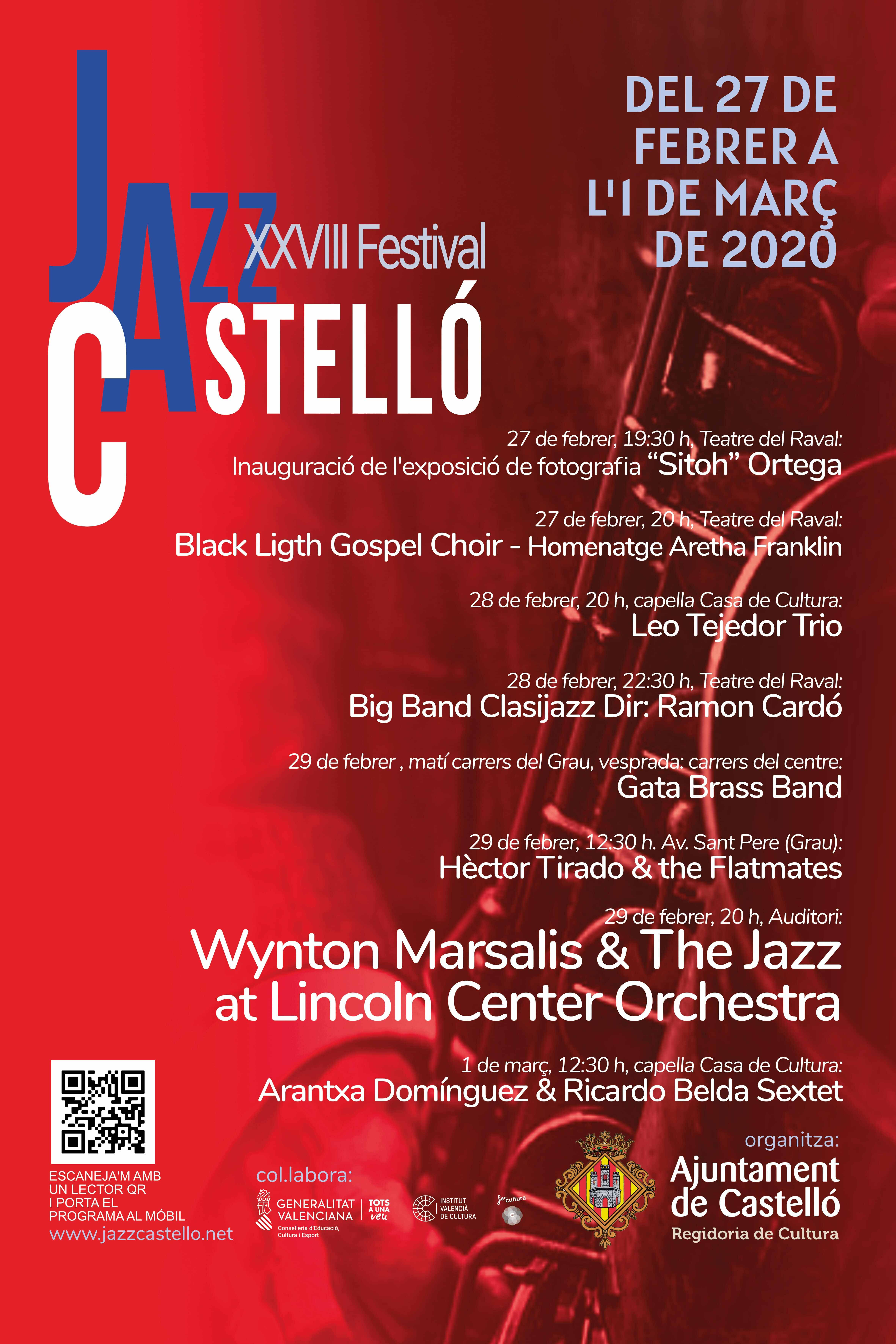 LOW_130220 cartell XXVIII Festival de Jazz de Castelló