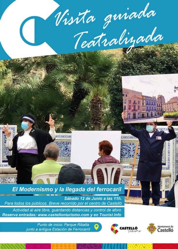 Visita guiada teatralizada Castelló